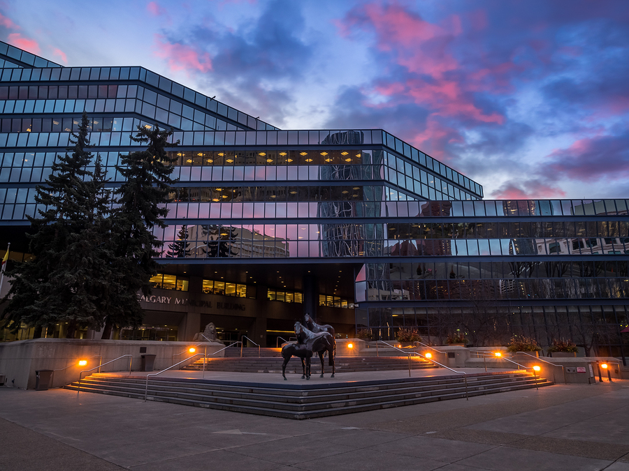 Calgary City Hall - Plumbing and Gas Permits