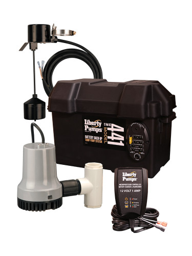 Liberty Pumps - 12V Battery Backup Sump Pump - Calgary, Alberta